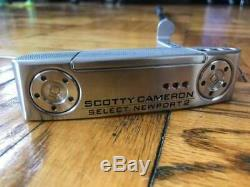 Scotty Cameron 2018 Select Newport 2 35'' RH putter withheadcover 210gram weights