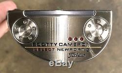 Scotty Cameron 2018 Select Newport 3 Putter Brand New -LH -Want It Custom -FTP