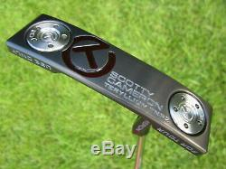 Scotty Cameron 2019 TOUR ONLY Newport 2 T22 Terylium CIRCLE T Tour Black 360G