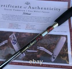 Scotty Cameron 2020 Timeless Trisole SSS Circle T Tour Left Hand LH Putter NEW