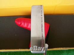 Scotty Cameron 303 SSS Circle T Tour Newport 2 Tri-Sole Putter Hand Stamped 35