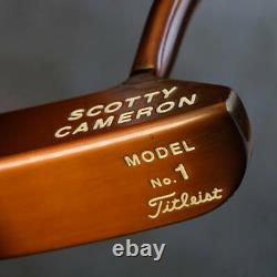 Scotty Cameron Circa 62 No. 1 Classic Model Copper Specification Putter #59