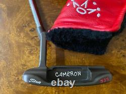 Scotty Cameron Circle T 009 Putter and Headcover With Oil Can Finish and COA 37