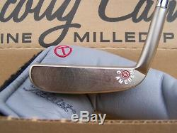 Scotty Cameron Circle T For Tour Use Only Hand Stamped Napa Putter 35 RARE RH