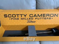 Scotty Cameron Circle T GoLo Prototype Center Shaft 33.5 Inches COA
