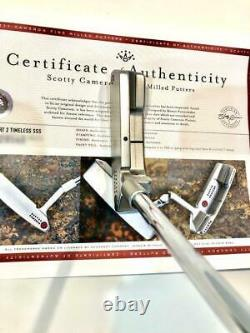 Scotty Cameron Circle T Newport 2 Timeless SSS350 34 inches with COA & HC RARE