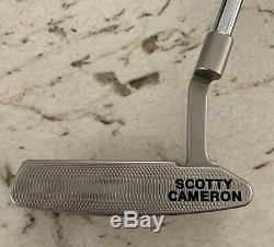 Scotty Cameron Circle T Newport 2 Tour Only 34 Putter with COA