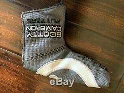 Scotty Cameron Circle T Putter Masterful 009 Tour Dot & COA 34inch Cover Incl