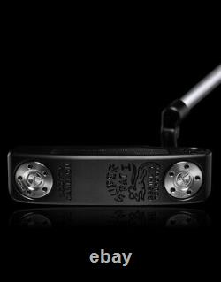 Scotty Cameron Circle T Super Rat 1 (Masterful) GSS Inlay Tour Only- Black New