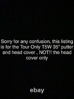 Scotty Cameron Circle T T5W Tour Only Putter And Head cover