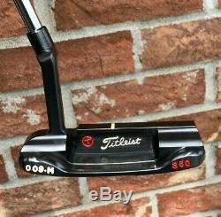 Scotty Cameron Circle T Tour 009M Carbon Spieth Style 350G Putter - NEW