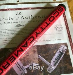Scotty Cameron Circle T Tour 009 Masterful Beached Hot Head Harry 350G Putter