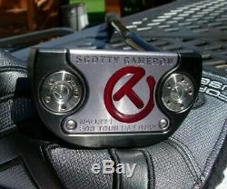 Scotty Cameron Circle T Tour Blacked Out Fastback M1 Rory Prototype PutterNEW