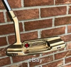 Scotty Cameron Circle T Tour Bronze Tungsten Timeless NP2 Tiger Woods SSS Putter