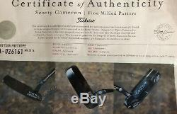 Scotty Cameron Circle T Tour Newport 009 Beached Flow Neck CT Beach with COA