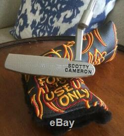 Scotty Cameron Circle T Tour Rat I FTUO NO SIGHT LINES/NAKED + Matching HC