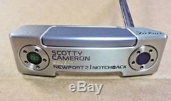 Scotty Cameron Custom Shop 16 Select Newport 2 Notchback Joker Edition 34.00