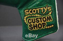 Scotty Cameron Custom Shop Blade Cash is King BLING Putter Head Cover