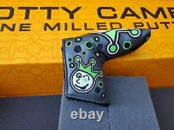 Scotty Cameron Custom Shop Jackpot Johnny Charcoal Lime Blade Putter Headcover