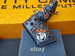 Scotty Cameron Custom Shop Jackpot Johnny Orange Blade Putter Headcover New