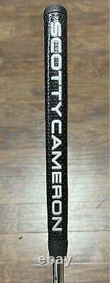 Scotty Cameron Futura X5 Welded Flow Neck Putter With Cover LH Xtreme Dark DLC