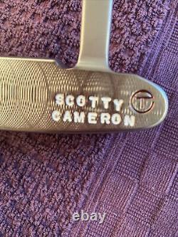 Scotty Cameron GSS Circle T Newport Jackpot Johnny Used 34.5 With COA 340 Gram