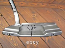 Scotty Cameron GSS Tour TIMELESS 2 Circle T WELDED 2.5 NECK & BLACK SHAFT 350G