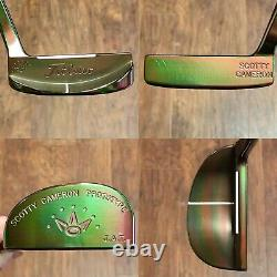 Scotty Cameron JAT Prototype Limited Release Putter New Woodland Camo Finish