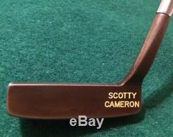 Scotty Cameron JAT Prototype Putter 33 Inch