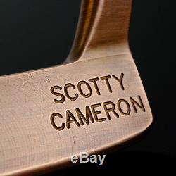 Scotty Cameron J. A. T. Prototype Custom Deep Copper (35) #681101057 Putter