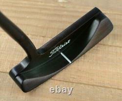Scotty Cameron Laguna BLACK RAINBOW PVD FINISH Black Shaft New Grip