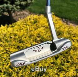 Scotty Cameron Left Hand Circle T 009M Masterful SSS 350G LH Putter -MINT