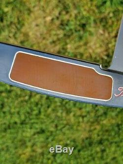 Scotty Cameron Limited Button Back Newport Circle T Tour weights Pink CNC