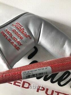 Scotty Cameron Limited Edition 2008 Holiday Putter Button Back GIP Buttonback