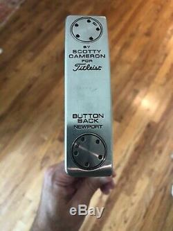 Scotty Cameron Limited Release Button Back Newport Putter