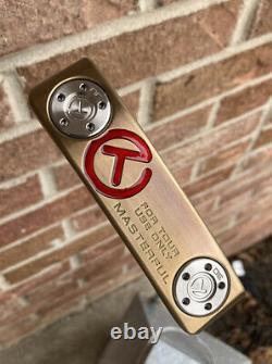 Scotty Cameron Masterful 1.5 Tourtype Chromatic Bronze Circle T Tour Putter-NEW