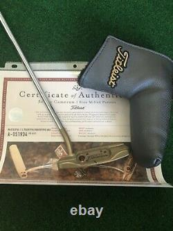 Scotty Cameron Masterful 1.5 Tourtype Chromatic Bronze Circle T Tour only Putter