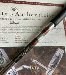 Scotty Cameron Masterful Newport Prototype SSS Circle T Tour Putter -MINT