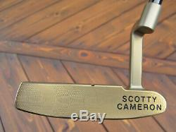 Scotty Cameron Masterful TOUR RAT Chromatic Bronze Circle T BLACK SHAFT 360G