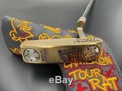 Scotty Cameron Masterful Tour Rat I 34 Putter Circle T CT Tour Chromatic Bronze