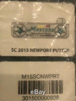 Scotty Cameron Masters 2015 Putter
