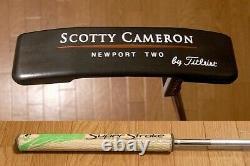 Scotty Cameron NEWPORT TWO NEWPORT TWO Trellium TeI3 Custom Gun Blue No Cover