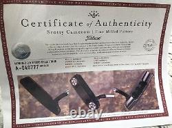 Scotty Cameron Newport 2.5 Studio Select Tour In Tour Black withCircle T Stamp NEW