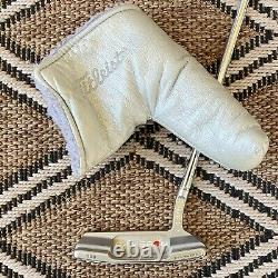 Scotty Cameron Newport 2.5 putter 34 inch LEFT LH (Rare Good Cond.) With Cover