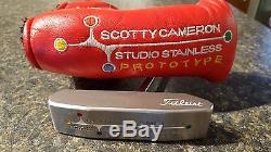 Scotty Cameron Newport 2 Centershaft Studio Stainless Prototype