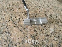 Scotty Cameron Newport 2 Pro Platinum Tri-Sole With Graphite Shaft Putter