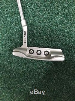 Scotty Cameron Newport Button Back 34 With Headcover