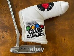 Scotty Cameron Newport GSS Putter With Headcover COA Included