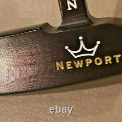 Scotty Cameron Oil Can- Newport Putter The Art Of Putting 33/350g! Pristine