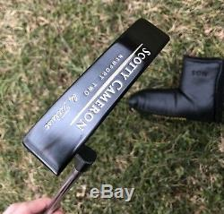 Scotty Cameron Original Newport 2 Two With Headcover 35